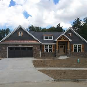 Craftsman Style Ranch Homes Pin By Michelle Kleppen On My House Pinterest