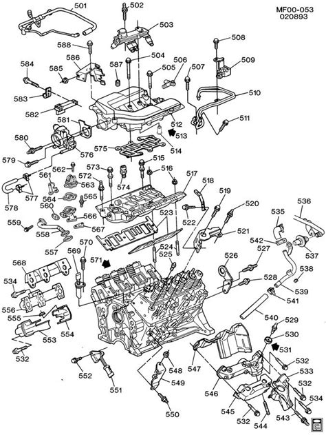 engine asm 3 4l v6 part 5 manifolds fuel related parts