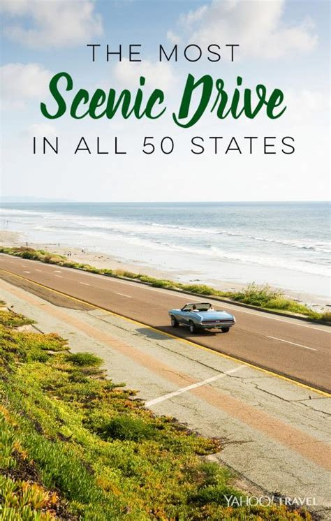 most scenic states the most scenic drive in all 50 states