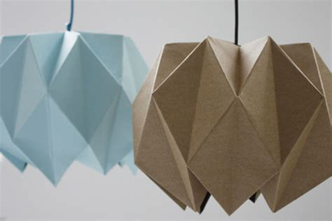 Folded Paper L Shade - diy lshade inspiration
