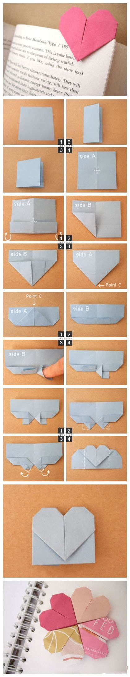 Origami Bookmark Tutorial - simple origami tutorial can be used as a