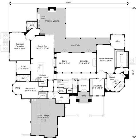 italian floor plans italian style house plans 6765 square foot home 2