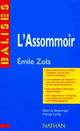 Resume L Assommoir by L Assommoir Emile Zola R 233 Sum 233 Analytique B 233 Atrice
