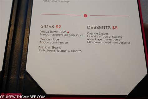 of the seas room service menu royal caribbean menus cruise with gambee