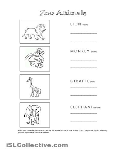 printable zoo animals worksheets 12 best images of zoo counting worksheets zoo animals