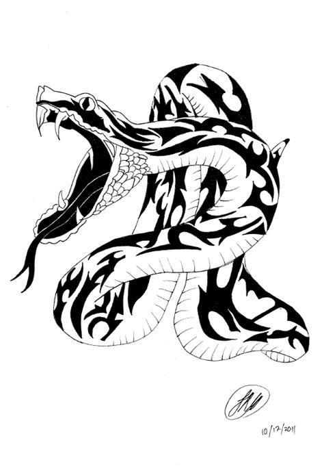tribal snake tattoo designs collection of 25 tribal snake and designs