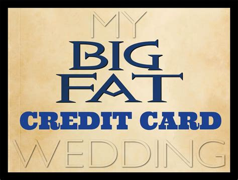 Credit Card Wedding Promotion 2018