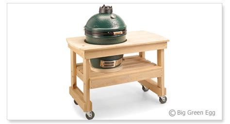 big green egg large table nest 187 woodworktips