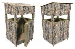 Hunt Box Floor Plans Deer Stand Box Blind Plans Hunting Build Your Own Easy
