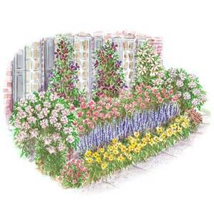 colorful front yard garden plans