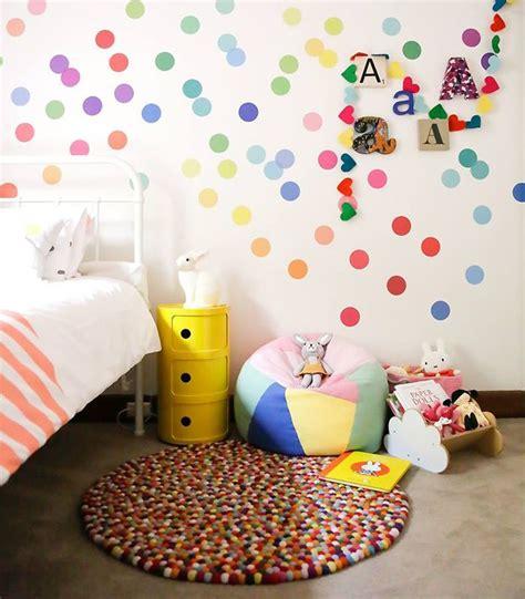 polka dot bedroom 8 and easy ways to use polka dot wall decals