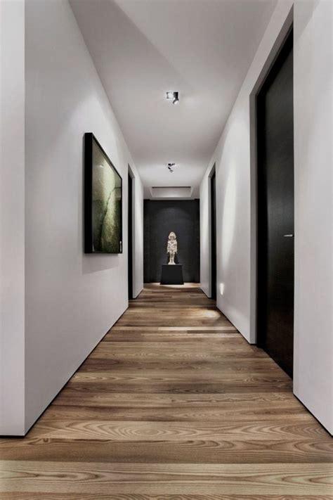 modern hall  black doors  art  horizontal medium