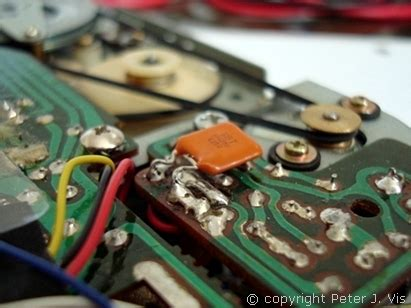 capacitor across motor terminals data cassette mod for zx81