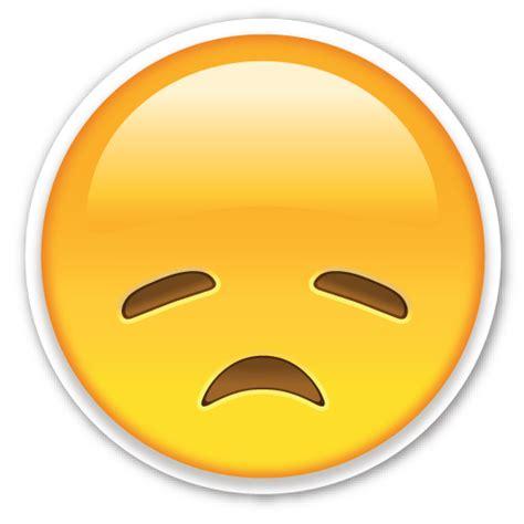 imagenes de un emoji triste disappointed face