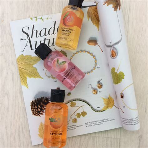 Shower Gel 60ml The Shop 1 f b l savvy the shop mini shower gels