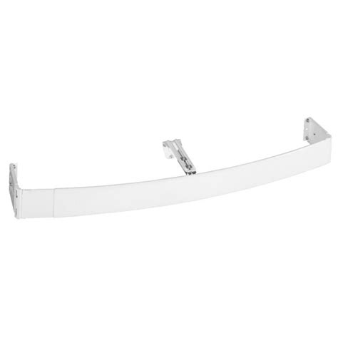 continental curtain rods kirsch continental ii curved curtain rod 28 quot 48 quot clearance