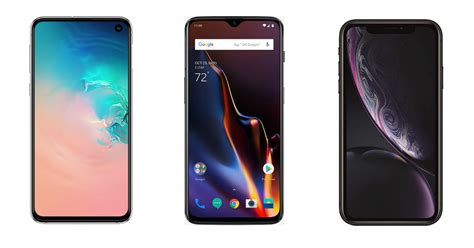 samsung galaxy s10e vs oneplus 6t vs iphone xr price specifications compared 91mobiles
