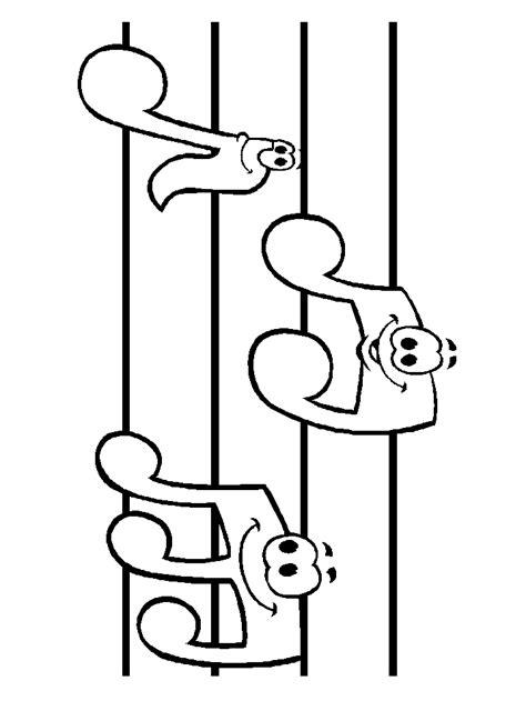 bordes para notitas colouring pages desenho de notas musicais para imprimir az dibujos para