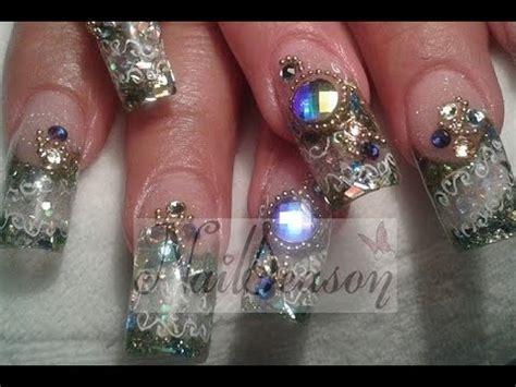 tutorial diseño blogger bling bling nails uas estilo sinaloa paso a paso con