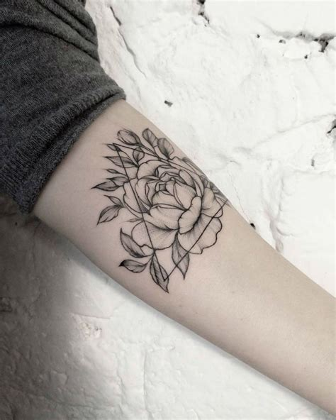 fine line tattoos floral dotwork and line tattoos by dasha sumkina
