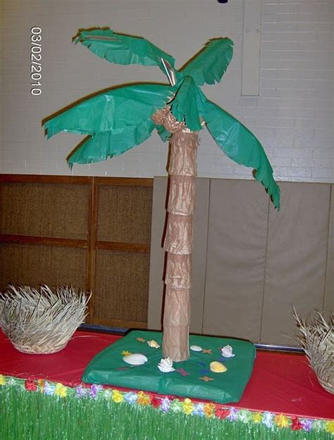 How To Make Paper Palm Trees - palm trees craft ideas trees