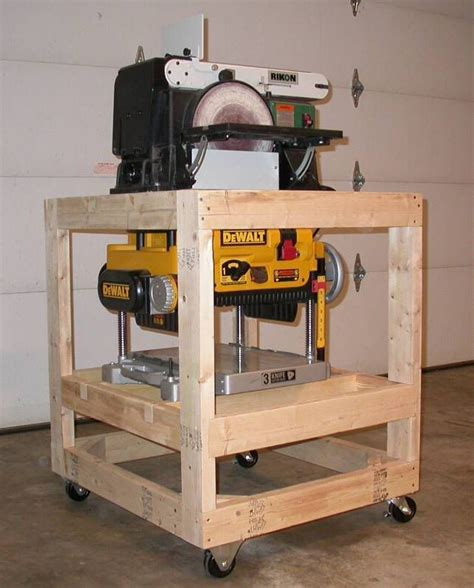 best home planer planer stand plans free woodworking projects plans