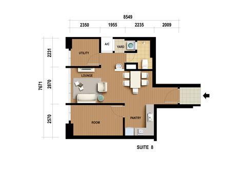 executive suite site floor plan