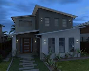 Narrow Lot Houses by Narrow Lot Homes Custom Home Designs