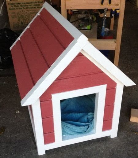 red dog house 9 creative diy dog house ideas to build shelterness