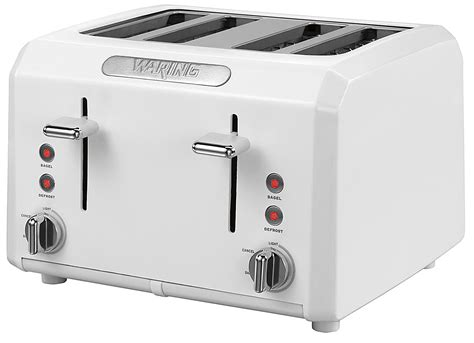 Pro Toaster Waring Pro Ctt400w 4 Slice Professional Cool Touch Toaster