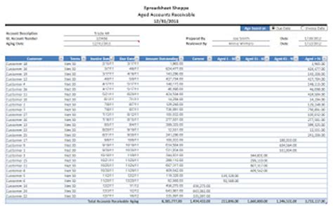 accounts receivable template excel in templates included accounts receivable