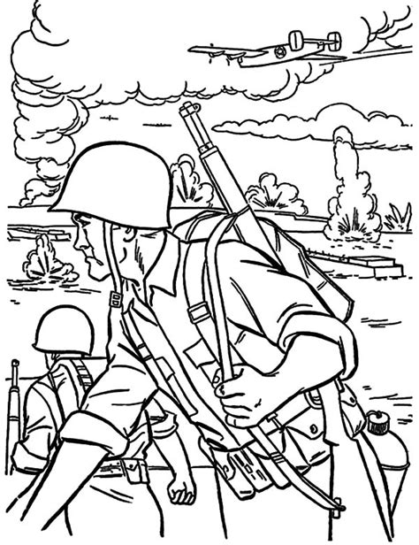 army battle coloring pages free printable coloring pages part 38