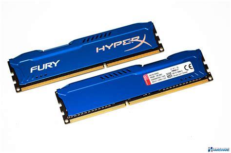 Ram Hyperx review kingston hyperx fury 8gb kit 2x4gb ddr3 1600mhz cl10 actualidadharware