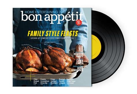 dinner playlist bon appetit october entertaining issue playlist