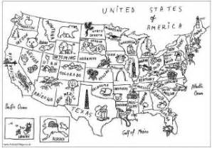 us map kindergarten us map colouring page landmarks coloring pages and links