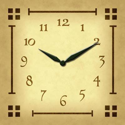 cool clock face for the home pinterest pin by mike s on cool craftsman style pinterest