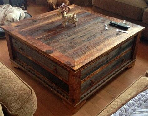 reclaimed wood coffee table set reclaimed wood trunk coffee table pictures