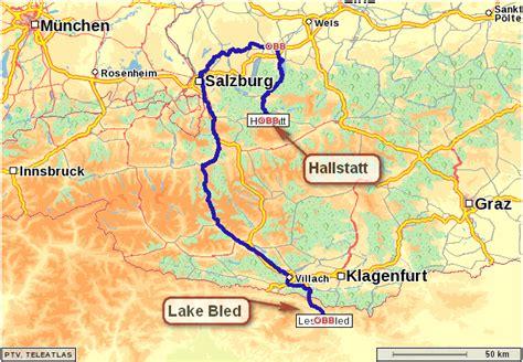 hallstatt austria image gallery hallstatt map