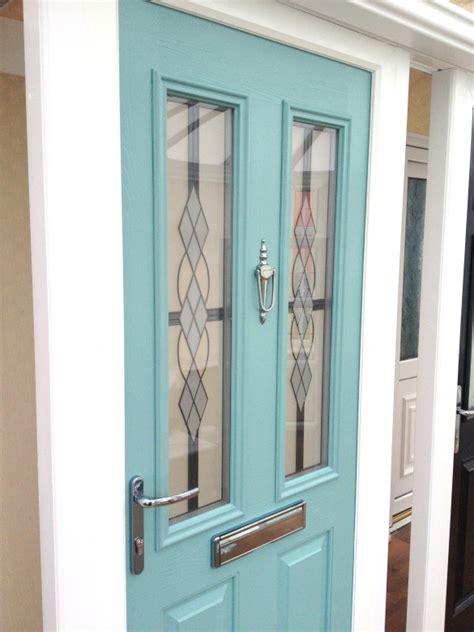 pale green composite front door composite doors