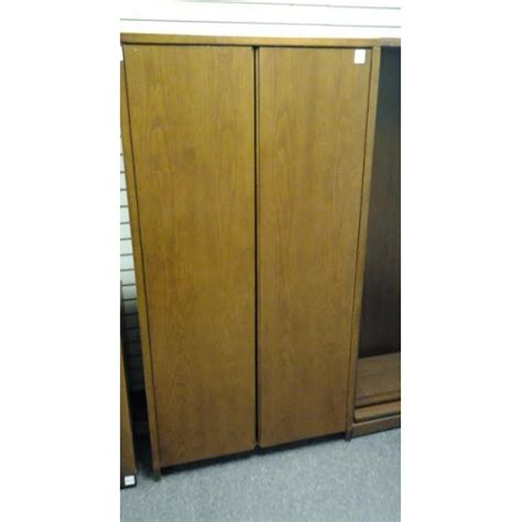 enclosed bookshelves enclosed shelf brown bookcase 4 shelves allsold ca buy sell used office furniture calgary