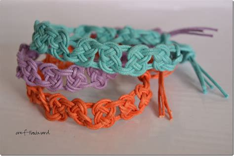 Craft Macrame - craft boulevard macrame bracelets