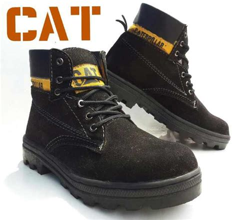 Caterpillar Safety Semi Boot sepatu boots 666 embargo store 666