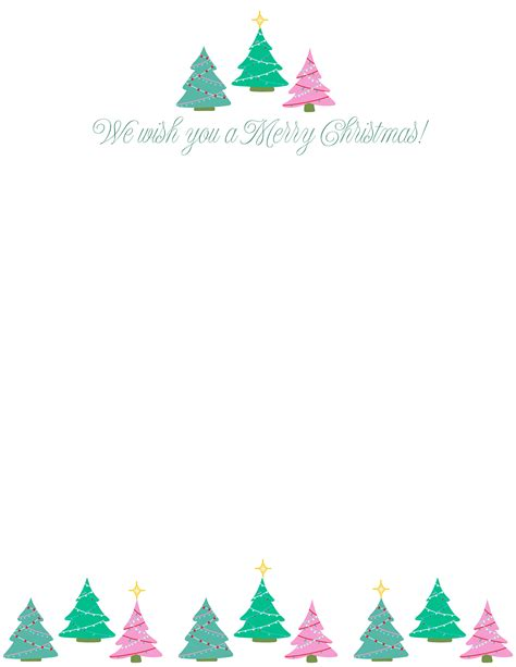 christmas letter templates homes gardens