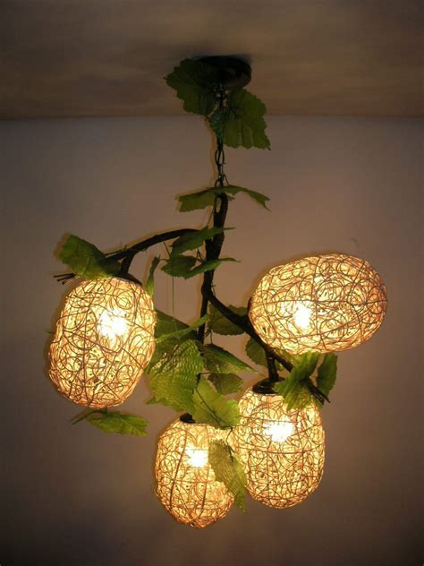 Handmade Bulbs - decor home with chandeliers interior designing ideas