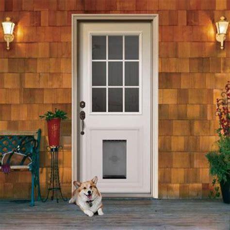 Exterior Door With Pet Door 155 Best Images About Door Ideas For Home On Wall Mount And Portal