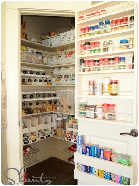The Pantry Door Organizer by 20 Pantry Ideas Somewhat Simple