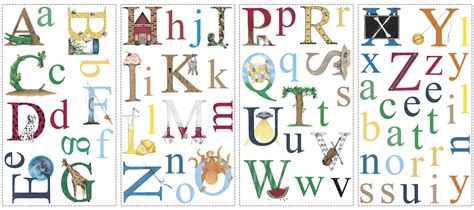 wall stickers alphabet letters alphabet wall decals caleydaniel pte ltd