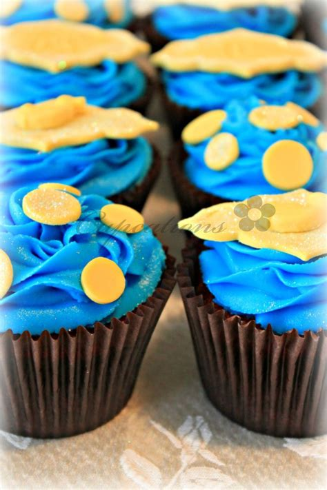 Blue And Yellow Baby Shower by Yellow And Blue Baby Shower Cupcakes Cakecentral