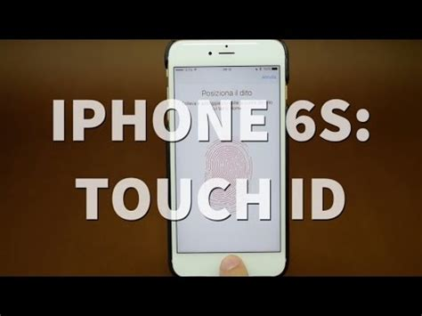 iphone 6s e 6s plus focus touch id