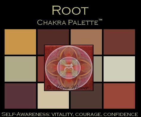 Color Design Palette Root Chakra Palette